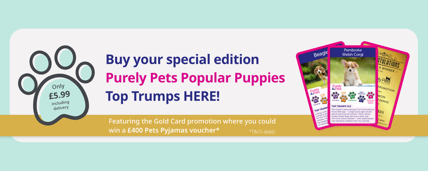 Purely Pets Popular Puppies Top Trumps On Sale NOW!